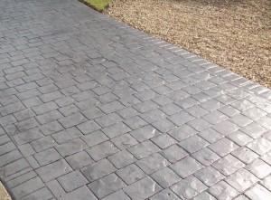 Imprinted concrete driveway Redditch